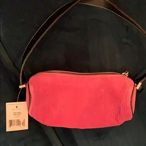 Kate Spade Rare Vintage Corduroy Small Teetsie Bag